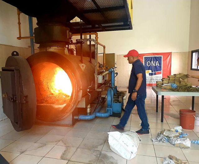 Incineran marihuana incautada en Guárico