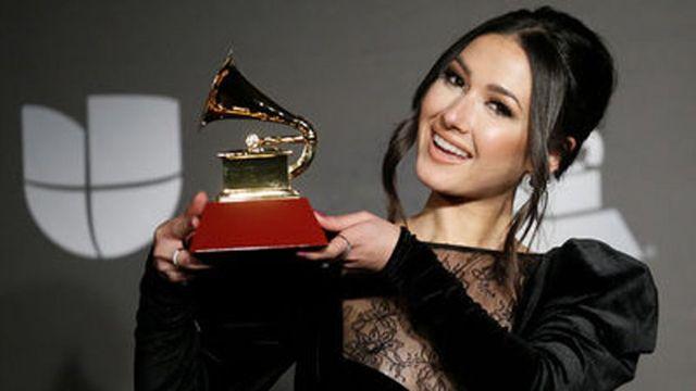 Nella ganó el Grammy Latino a mejor artista revelación