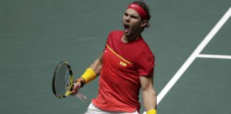 Rafael Nadalselló el sexto campeonato de Copa Davis para España.