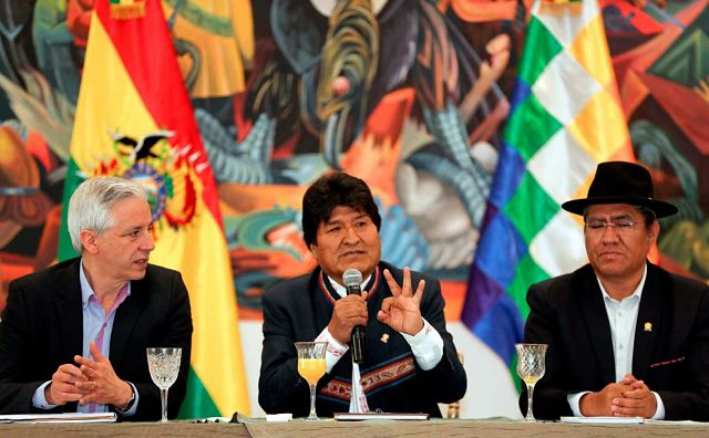 presidencia  en bolivia