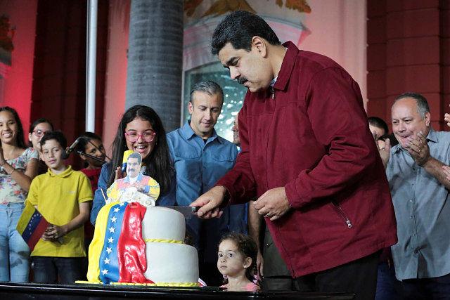 cumpleaños de Nicolás Maduro