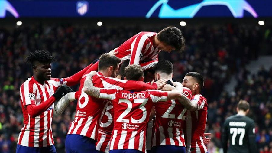 Atlético de Madrid clasificó a octavos .de final