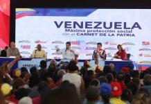 Maduro ofreció balance del carnet de la patria