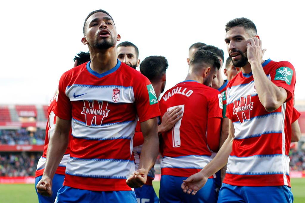 Yangel Herrera marcó en la goleada de Granada ante Alavés.