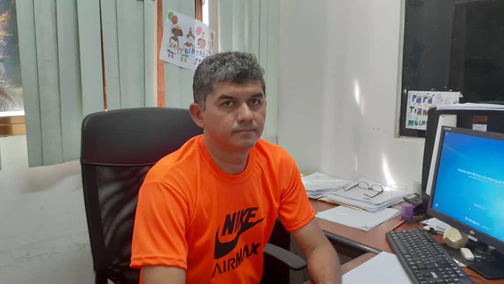 Rafael Mota funcionario de Alguarisa