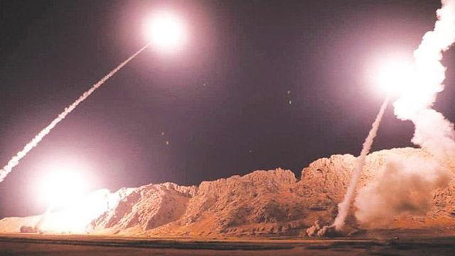 Irán ataca