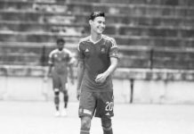 Jugador del Caracas Fútbol Club