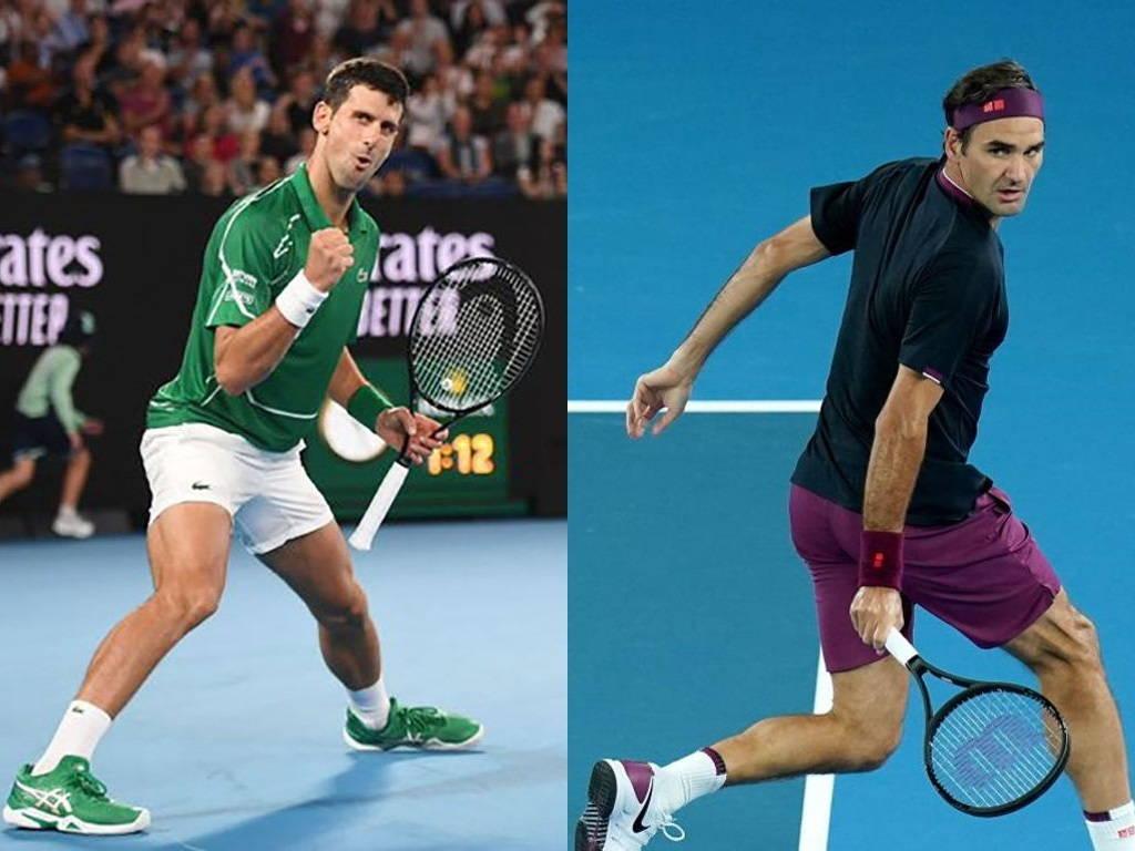 Federer y Djokovic, Abierto de Australia
