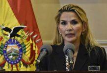 Jeanine Áñez, Presidenta Interina de Bolivia