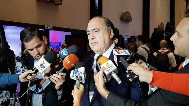 Mario Villarroel, presidente de la Cruz Roja venezolana.