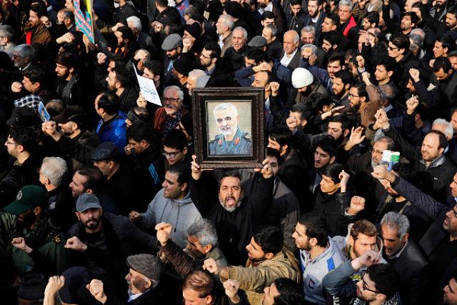 irán Qassem Soleimani.