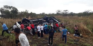 accidente en guárico