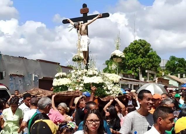cristo de la salud- procesión- zaraza