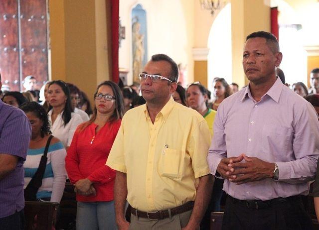 El secretario general de gobierno Freddy Alí Gomez asistió en representación del Gobernador del Estado.