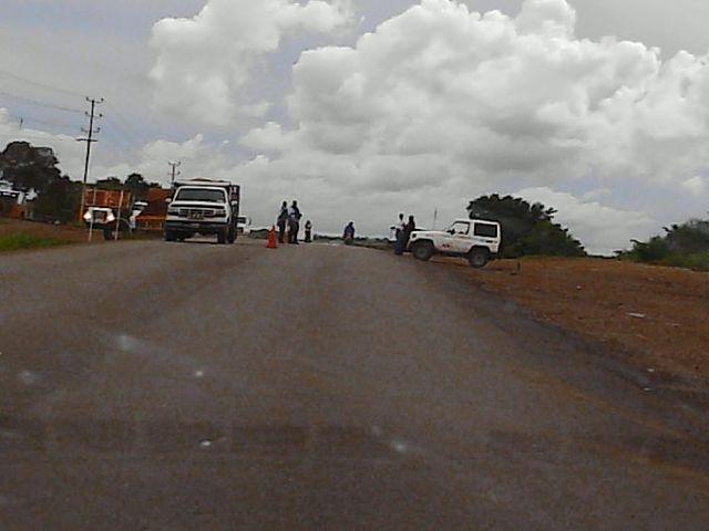 Carretera Memo- chaguaramas. Foto archivo