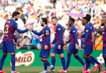 Poker de Messi en la victoria del Barcelona ante Eibar