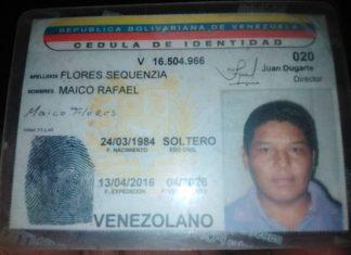 Maico Rafael Flores Sequenzia