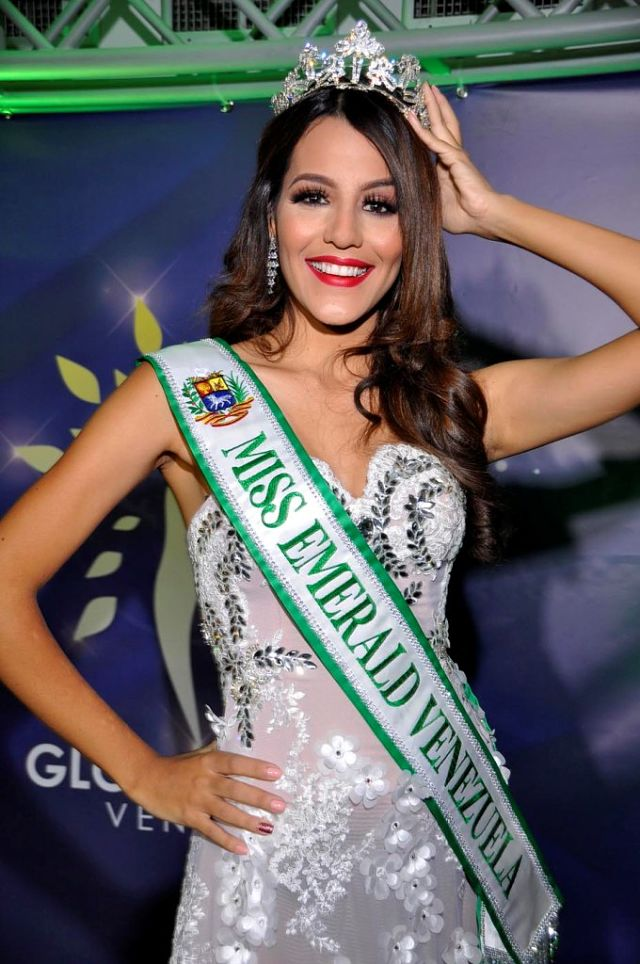 Miss Emerald Pageant Venezuela 2020.