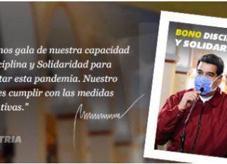 Bono Disciplina y Solidaridad