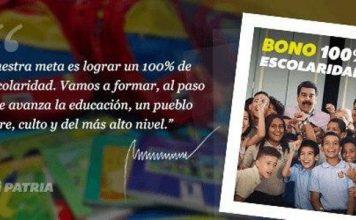 Bono de Escolaridad 100%
