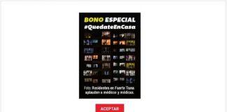 Bono Quédate en Casa