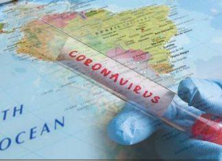 Coronavirus en Sudamérica