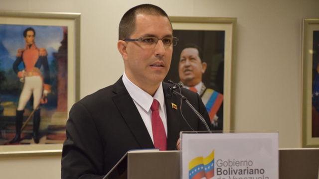 Así respondió el canciller de Venezuela a la propuesta de Estados Unidos