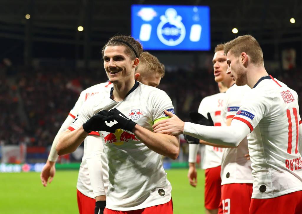 Leipzig avanza a cuartos de final de la UEFA Champions League.