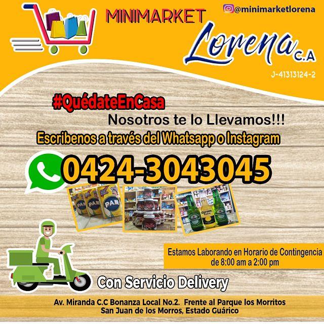 delivery minimarket lorena