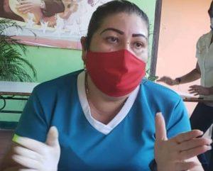 Ana Ospino alcaldesa de Ortiz