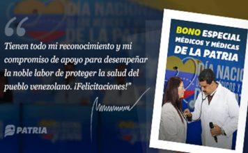Bono Especial para Médicos y Médicas de la Patria
