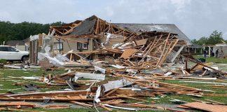 Tornados al sur de Estados Unidos