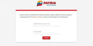 Patria Institución