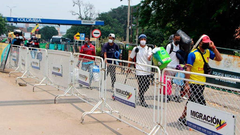 Venezolanos fueron expulsados de Colombia por incumplir cuarentena