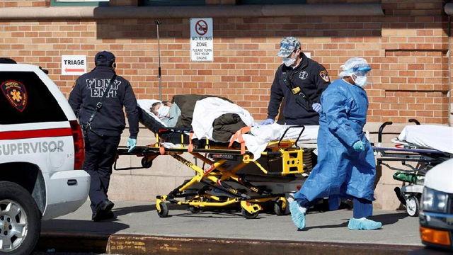 Muertes por coronavirus en Estados Unidos