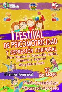 I Festival de Psicomotricidad y Expresión Corporal.