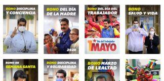 monto del Bono Padre Bolívar