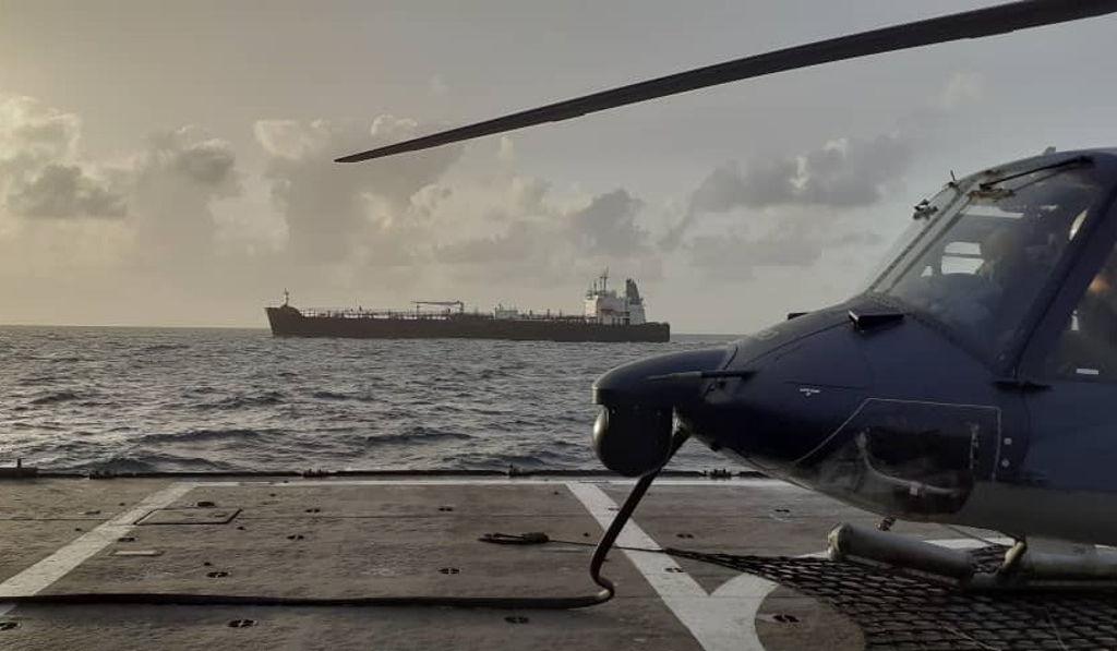 Quinto buque proveniente de Irán