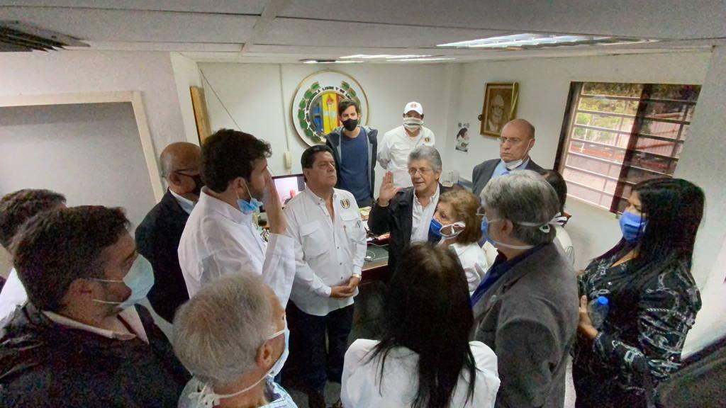 Acción Democrática juramentó a Prosperi como secretario nacional