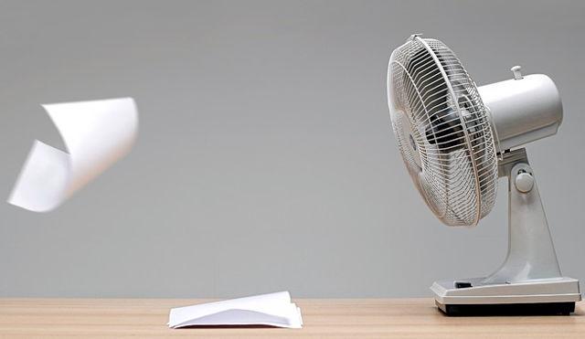 prendió el ventilador