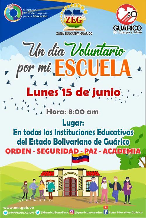 voluntario por mi escuela