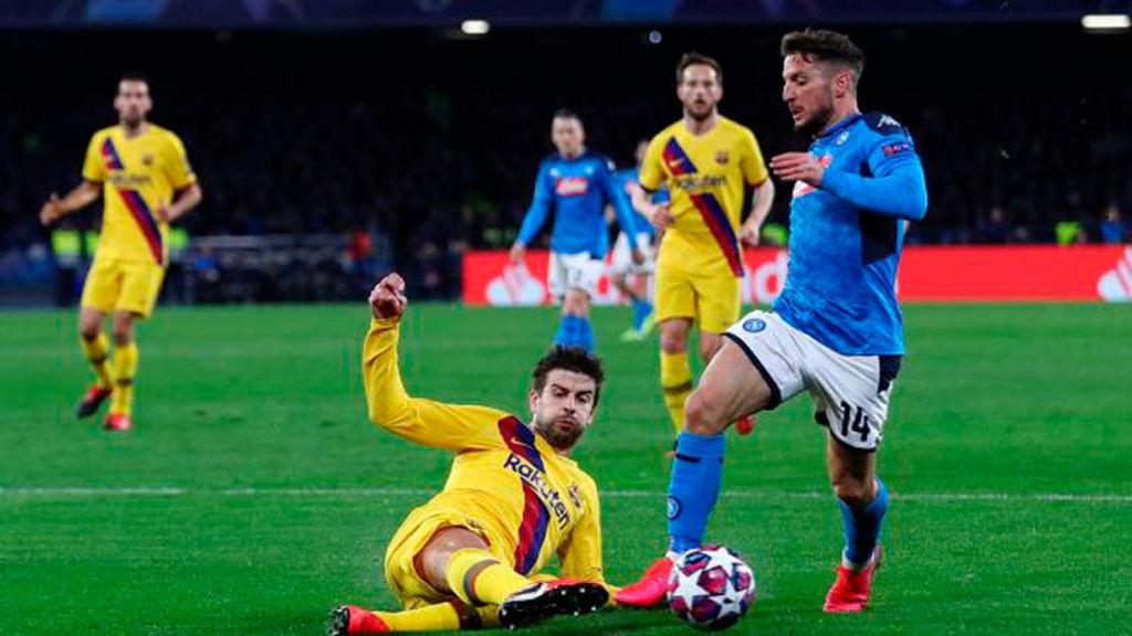 El partido Barcelona-Nápoli de UEFA Champions League se jugará como estaba previsto