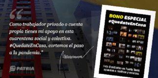 """Bono """"Quédate en Casa"""""""