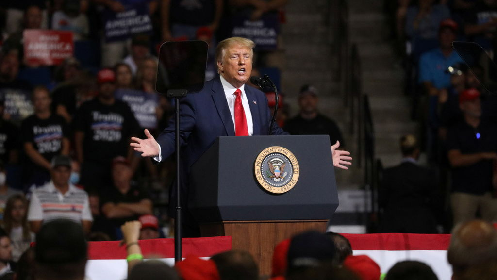 Trump es el candidato del Partido Republicano a la presidencia de EEUU