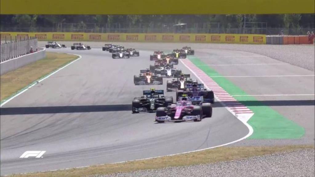 Hamilton se impuso en el Gran Premio de España