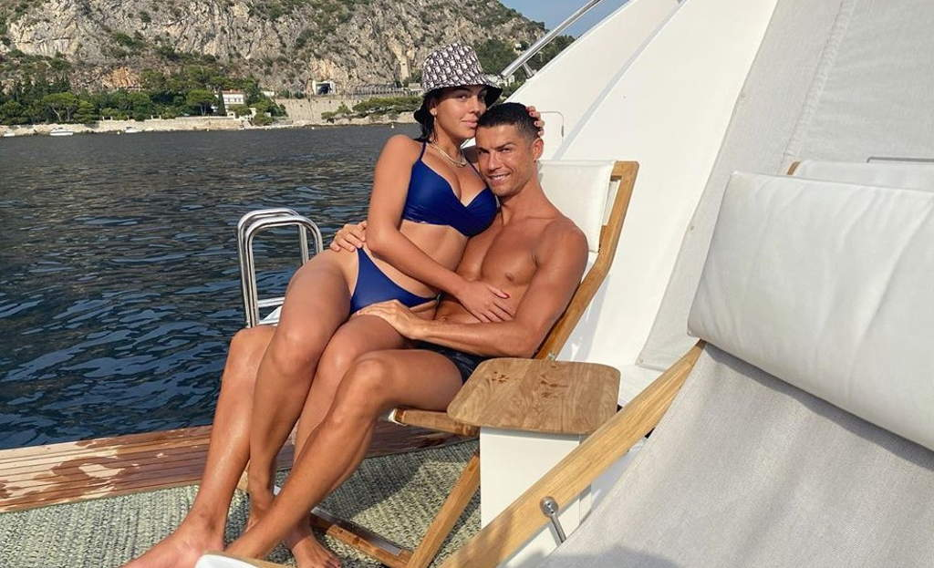 Georgina Rodríguez, la novia de Cristiano Ronaldo
