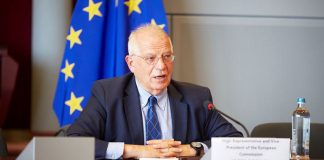 El alto representante de la Unión Europea (UE) para la Política Exterior, Josep Borrell.