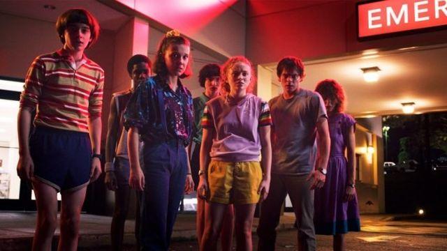Stranger Things 3, serie de Netflix.