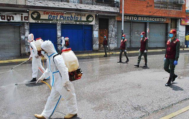 Balance del coronavirus en Venezuela