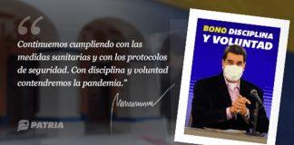 Bono Disciplina y Voluntad